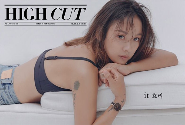 Lee Hyo Ri tái xuất với một bộ ảnh trên High Cut. Loạt ảnh thể hiện được vẻ đẹp quyến rũ tự nhiên của nữ ca sĩ. Ở tuổi 40, nhan sắc Lee Hyo Ri vẫn khiến netizen trầm trồ.