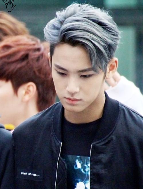 Nhận dạng idol Hàn với mái tóc xám khói (3) - 1