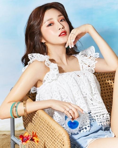 Chae Ji An sinh năm 1991,