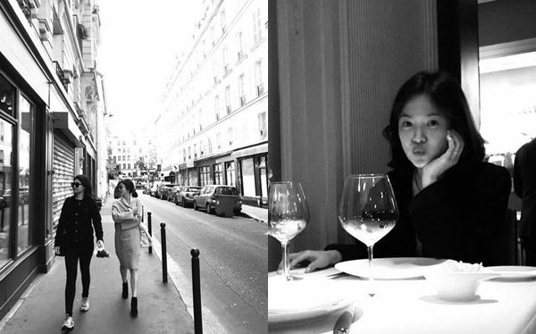Thậm chí 2 bức ảnh do Song Joong Ki làm phó nháy cho Song Hye Kyo trong kỳ trăng mật cũng mất dấu.