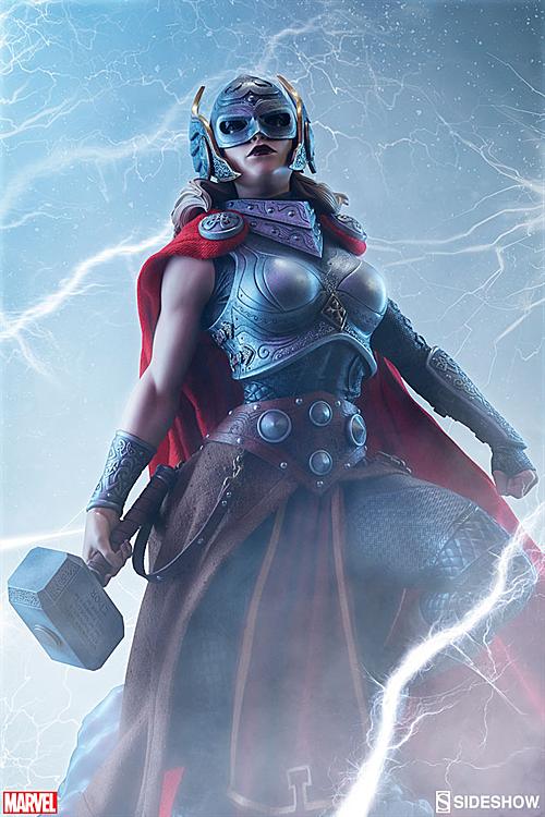 Tạo hình nhân vật Thor nữ.