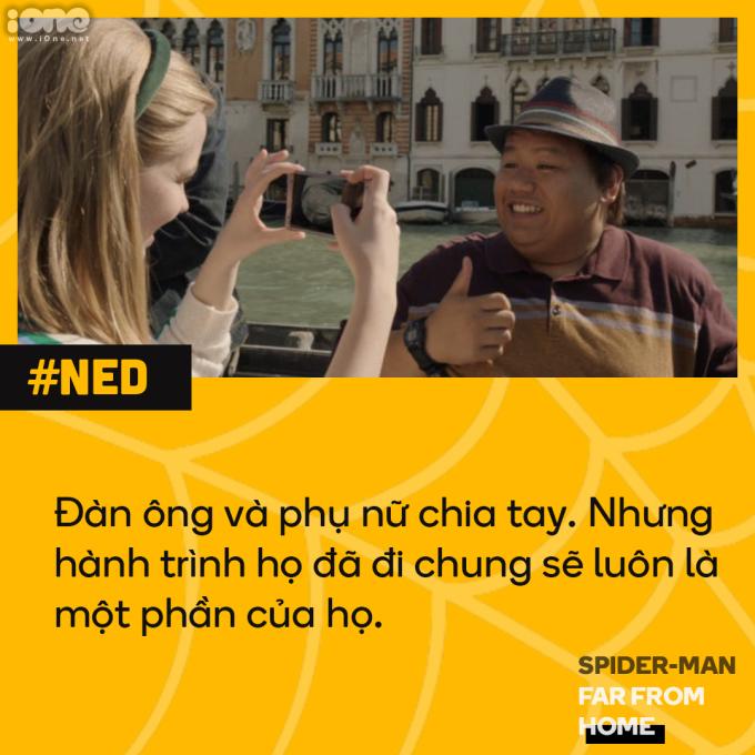 <p> Tuy nhiên, mối tình của Ned và Betty cũng kết thúc nhanh như cách nó đến. Trở về từ chuyến du lịch châu Âu, hai người quyết định tiếp tục làm bạn.</p>