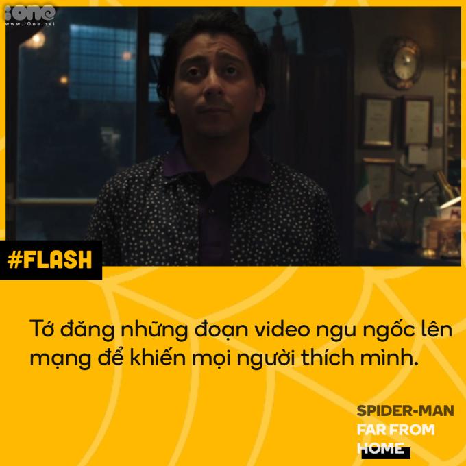<p> Câu nói trong lúc cận kề cái chết của Flash khiến nhiều người suy ngẫm. Liệu có phải giới trẻ đang quá quan tâm đến danh tiếng ảo mà bỏ lỡ những điều thú vị ngoài đời thực?</p>
