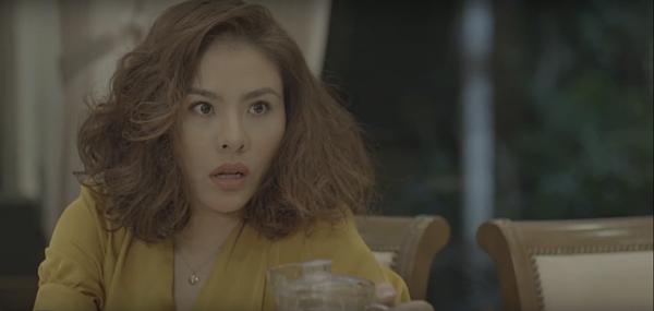 Vân Trang trở lại màn ảnh với vai diễn bà mẹ trẻ con.
