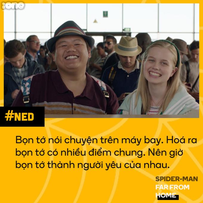 <p> Ned và Betty nảy sinh tình cảm rất tự nhiên và nhanh chóng. Chỉ trong thời gian một chuyến bay, họ đã quyết định yêu nhau. Cả hai đều là những học sinh trung học với suy nghĩ đơn giản. Đối với những cô cậu tuổi mới lớn, tình yêu chỉ cần hai người có nhiều điểm chung và nói chuyện hợp nhau là đủ.</p>
