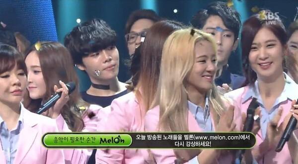 Năm 2014, khi 2NE1 thắng SNSD tại show Inkigayo, thái độ của Sunny cũng được cho là biểu cảm của sự thất vọng, khó chịu vì bị đối thủ qua mặt.