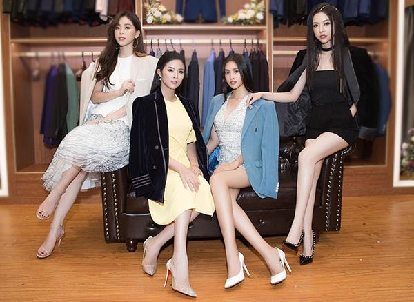 Sau gần một năm đăng quang, top 3 Hoa hậu Việt Nam 2018 ngày càng trưởng thành cả về tính cách và 'thăng hạng' về nhan sắc.