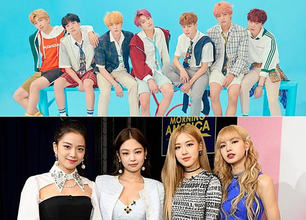 BTS và Black Pink là hai nhóm nhạc thường xuyên lập thành tích ở mặt trận YouTube.