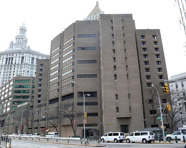 Nhà tài phiệt Mỹ bị giam tại Trung tâm cải huấn Metropolitan ở Manhattan.