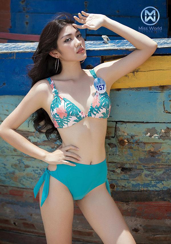 Thí sinh Miss World Việt Nam body đốt mắt, thần thái cuốn hút với bikini - page 2 - 3