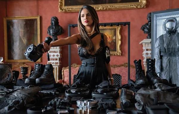Eiza González là nữ diễn viên trẻ người Mexico đang lấn sân Hollywood trong vài năm trở lại đây.