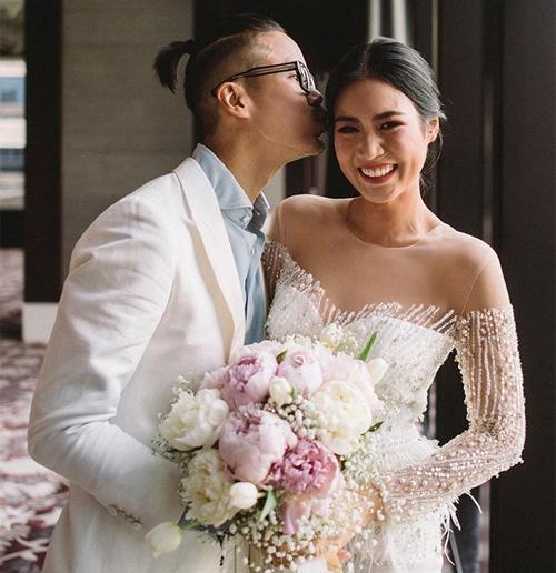 Ông xã của Top 10 Miss Universe 2018 người Thái Lan là Trinupab Jiratritarn - một doanh nhân thành đạt.