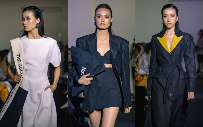 <p> Trang phục được lồng ghép hơi thở streetwear qua các phụ kiện túi xách. Những chiếc túi canvas được biến tấu để trở nên khác biệt hơn so với những chiếc túi canvas truyền thống.</p>