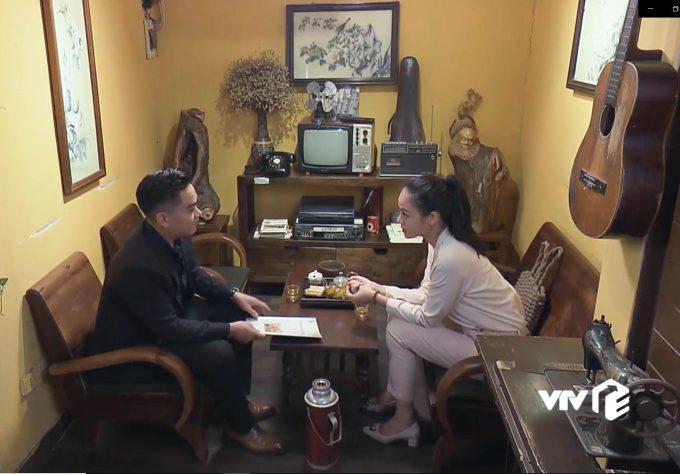 """<p> Phân cảnh chị Huệ bàn bạc với """"nhà đầu tư"""" ở tập 72.</p>"""