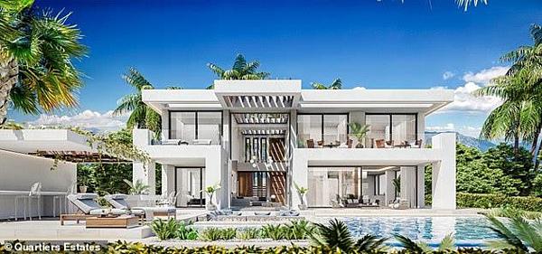 Biệt thự mới triệu đô siêu khủng của Ronaldo