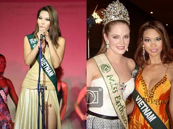 Hà Anh từng đại diện Việt Nam tham dự Miss Earth 2006 và về Nhì phần thi Tài năng.