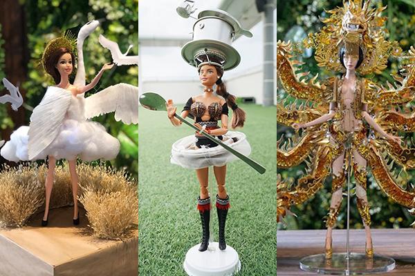 Ba tác phẩm được lựa chọn thực hiện để chọn ra một thiết kế cuối cùng cho Hoàng Thùy.