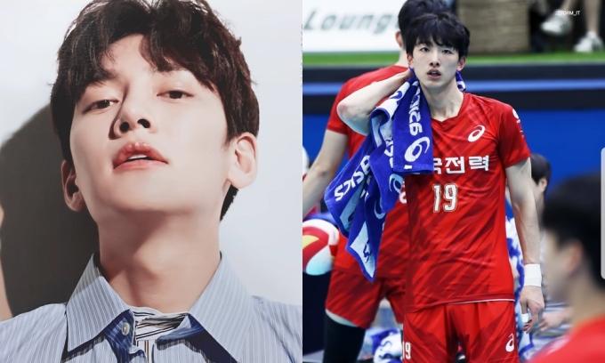 """<p> Hình ảnh một VĐV bóng chuyền người Hàn Quốc xuất hiện trên một diễn đàn gần đây nhanh chóng gây chú ý. Anh được nhận xét có vẻ ngoài giống với tài tử Ji Chang Wook. Hội những người """"mê trai đẹp"""" nhanh chóng tìm kiếm về thông tin về nhân vật chính này.</p>"""