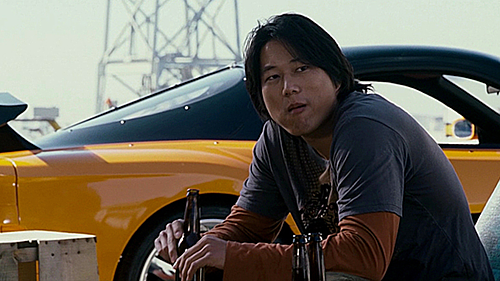 Nhân vật Han Lue do Sung Kang thủ vai.