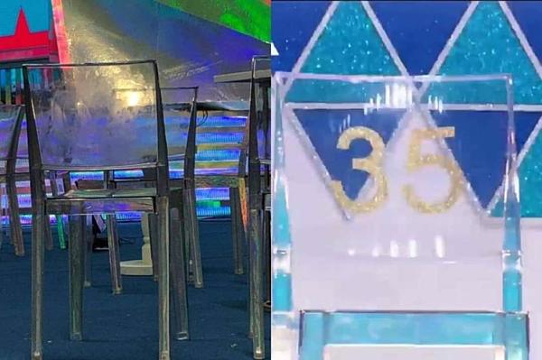 Ghế của chương trình Produce X 101 đã được đài Mnet tận dụng làm ghế ngồi cho nghệ sĩ tham gia MGMA.