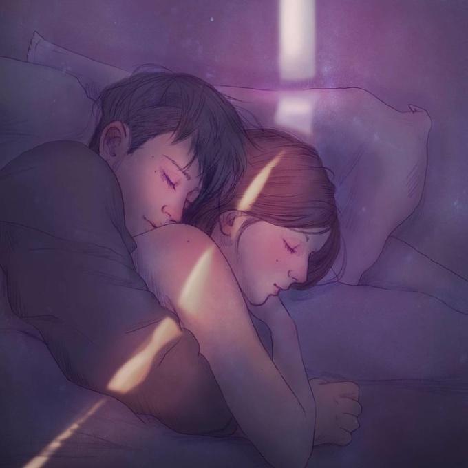 """<p> Là những ngày nghỉ được """"rúc"""" vào lòng người ấy ngủ ngon giấc, để quên đi sự bon chen đến mệt nhoài.</p>"""