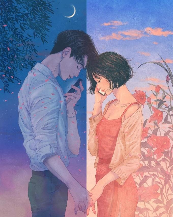 <p> Nhưng đôi khi vẫn có lúc cả hai phải xa nhau. Bạn buồn không? Có chứ, chẳng có ai xa nhau mà không buồn. Đó là khi cảm giác nhớ nhung, buồn tủi bao quanh để rồi bạn lại ao ước có người ấy ở bên để an ủi, vỗ về.</p>