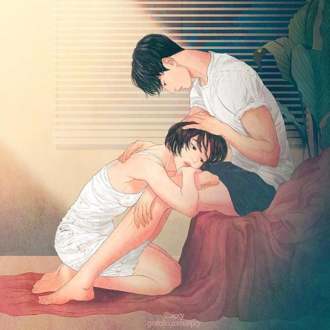 """<p> Là những lúc bạn cảm thấy mệt mỏi, yếu lòng về cuộc sống hiện tại, nhưng chỉ cần được về nhà, được ôm vào lòng và nói: <em>""""Không sao đâu có anh ở đây rồi!""""</em>, mọi buồn phiền, mệt mỏi dường như tan biến...</p>"""