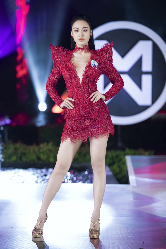 <p> Trong chung kết Miss World Việt Nam 2019 diễn ra tối 3/8 tại Đà Nẵng, giải thưởng Người đẹp được yêu thích nhất được trao cho Hoàng Hải Thu (SBD 299).</p>