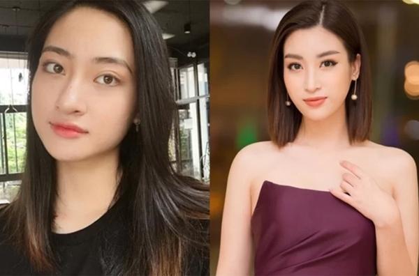 Hai Hoa hậu không chỉ cùng tên mà còn cùng xuất phát từ lò đào tạo hoa hậu Đại học Ngoại thương.