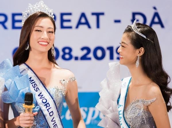 Kiều Loan và Thùy Linh xem nhau như chị em thân thiết.