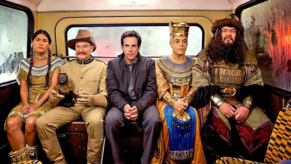 Series phim hài,hành động Night at the Museum thành công nhất trong 4 phim.