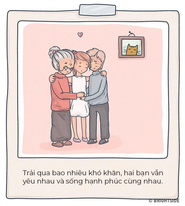 Bộ tranh: Tình yêu đích thực là gì?