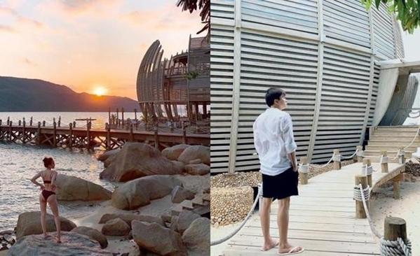 Dịp 30/4/2019, cả hai tiếp tục bị phát hiện cùng check-in tại một địa điểm nghỉ dưỡng.