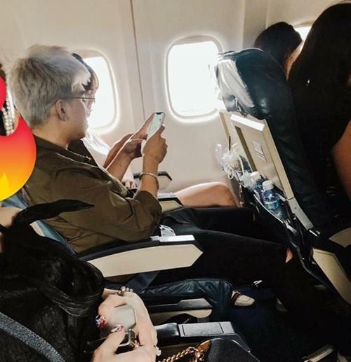 Tháng 8/2018, bức ảnh Lan Ngọc - Chi Dân cùng ngồi chung máy bay đi Côn Đảo lan truyền khiến tin đồn tiếp tục nóng trở lại.