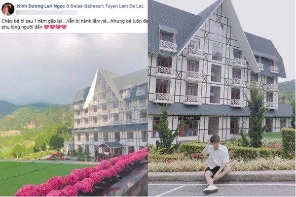 Tháng 7/2018, Lan Ngọc và Chi Dân đăng ảnh check in khi đi du lịch. Dù không xuất hiện trong ảnh nhưng không gian và bối cảnh tại một khu nghỉ dưỡng tại Đà Lạt tố cáo họ đi chung.