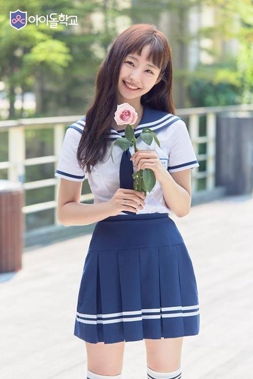 Som He In thời tham gia Idol School.