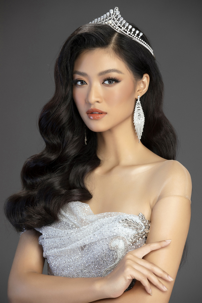 <p> Á hậu Kiều Loan khoe vẻ quyến rũ. Cô đang theo học tạiĐH Kinh tế - ĐH Đà Nẵng.</p>