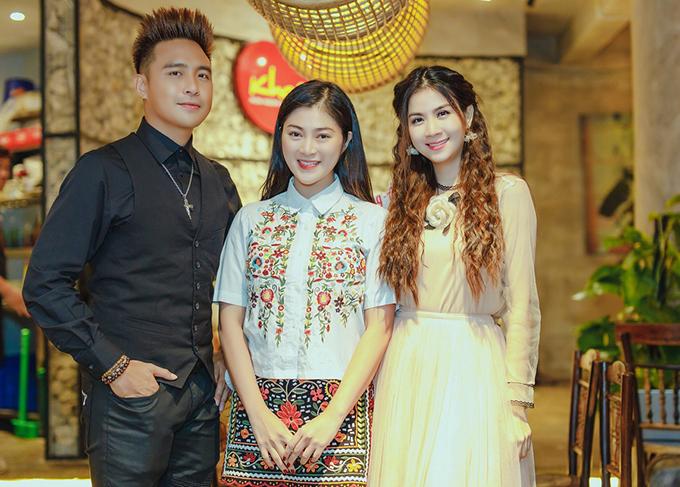<p> Diễn viên Thanh Trúc cũng là một người bạn thân thiết của vợ chồng Kha Ly.</p>