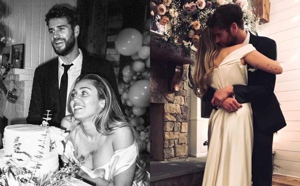 Ngày 23/12/2018: Miley và Liam tổ chức đám cưới bí mật tại nhà riêng ở bang Tennessee (Mỹ). Trong ngày trọng đại, cặp đôi chỉ mời gia đình và một số bạn bè thân thiết. Theo nguồn tin của People, Miley Cyrus từng cho biết mình không quan trọng chuyện kết hôn nhưng sau nhiều thử thách, giờ đây cả hai đều đã trưởng thành hơn trước và đây là vẻ là thời điểm hoàn hảo để họ gắn kết cuộc đời bên nhau.