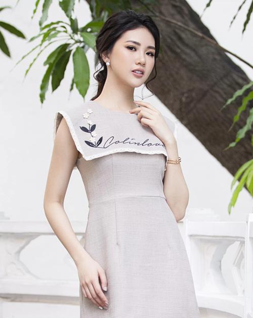 Siêu mẫu Quỳnh Hoa.