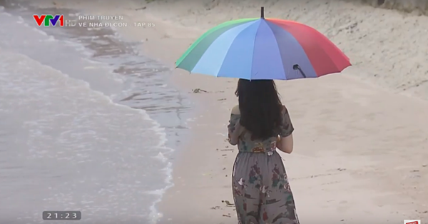 Chỉ phần lưng của Khánh My xuất hiện trong tập cuối.