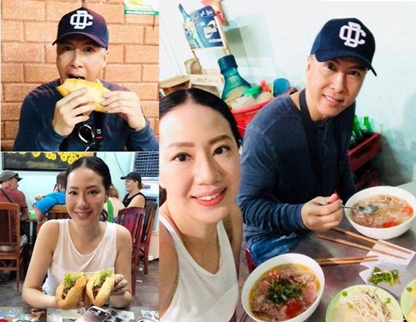 Tháng 11/2017, vợ chồng Chân Tử Đan có chuyến nghỉ dưỡng tại Việt Nam và chọn Hội An là điểm dừng chân. Họ đi dạo phố cổ, ăn phở Liến và bánh mì Phượng. Hình ảnh chia sẻ trên trang cá nhân thu hút chú ý.
