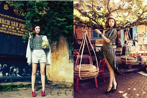 Tháng 11/2013, nữ diễn viên Jo Yoon Hee từng thực hiện một bộ hình thời trang cho tạp chí Cé Ci tại Hội An. Cô trải nghiệm nhiều nét văn hóa nơi đây bằng những bức ảnh đậm chất Việt.