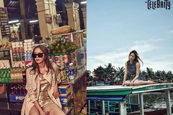 Nữ diễn viên Kim Ah Joong tới Hội An vào 2015 để chụp ảnh cho tạp chí Celebrity. Hình ảnh của Người đẹp ngàn cân ở các quán cà phê, resort và chợ gây chú ý. Người đẹp ngàn cân đã tới Hội An vào năm 2015 để chụp ảnh cho tạp chí Celebrity ở các quán cà phê, resort và chợ.