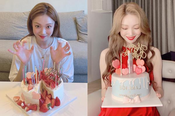 Lee Sung Kyung giản dị, hồn nhiên trong đời thường và kiêu sa, lộng lẫy trong buổi chụp quảng cáo. Cô nàng đón tuổi 29 vào 10/8 nhưng vẫn liên tục nhận được quà, bánh sinh nhật.
