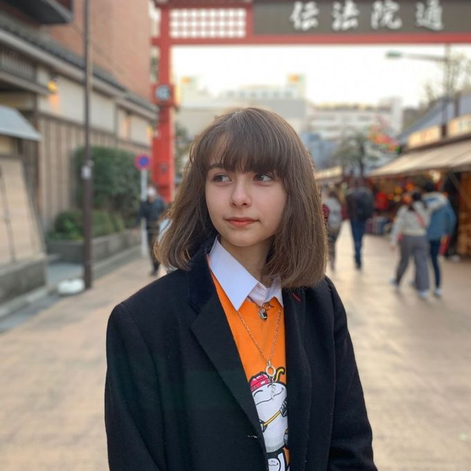 <p> Lina vẫn giữ được nét trong trẻo khi không trang điểm đậm. Cô bạn đang có khoảng 20.000 người theo dõi trên mạng xã hội Instagram.</p>