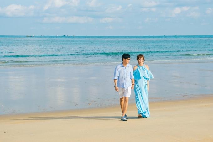 <p> Hình ảnh hạnh phúc này khiến họ luôn được bình chọn là cặp đôi đẹp của showbiz Việt.</p>