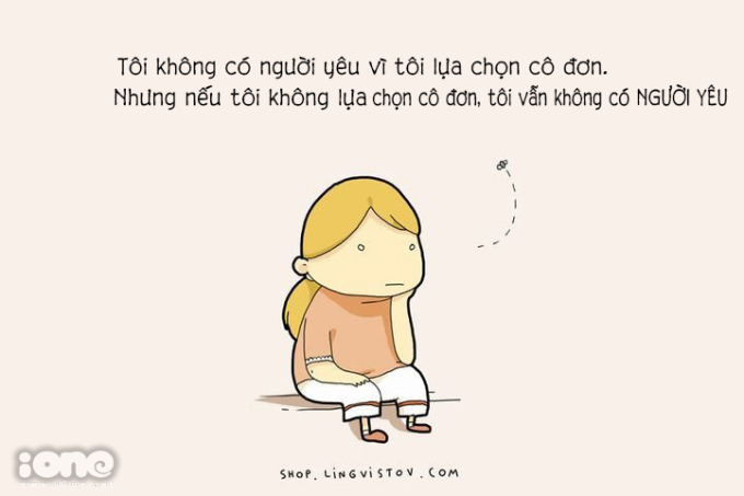 <p> Chẳng ai muốn lựa chọn cô đơn, chỉ là vì cô đơn cứ mãi theo họ...</p>