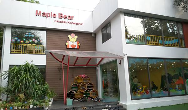 Trường mầm non Maple Bear chi nhanh cố 24 Quảng An, Tây Hồ, Hà Nội.