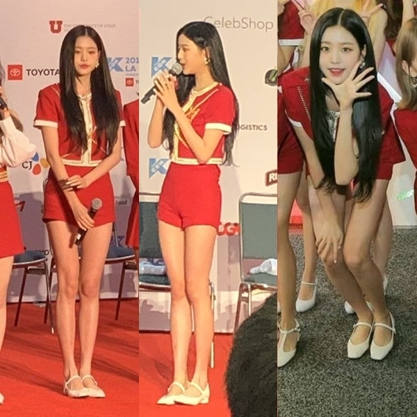 Những hình ảnh gây chú ý của Jang Won Young khi tham dự KCON LA 2019.